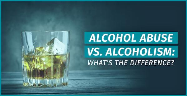 alcohol abuse vs alcoholism
