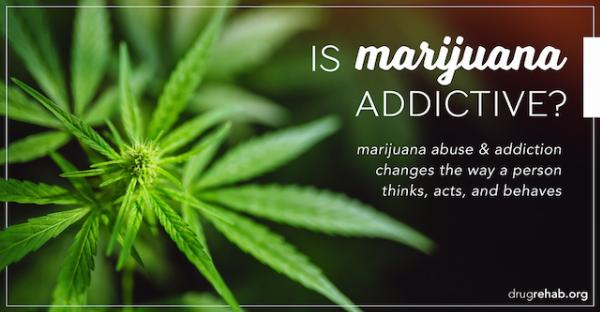 is marijuana is addictive?