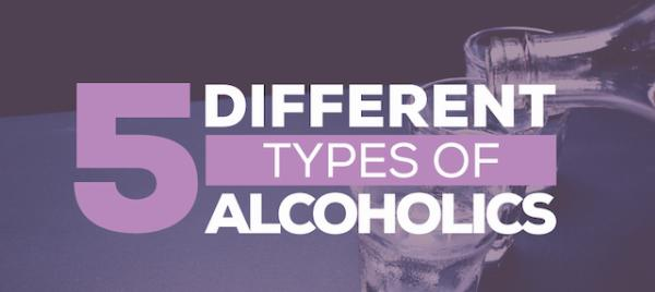 5 types of alcoholics